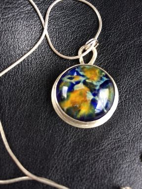 Custom Made Nebula Pendant