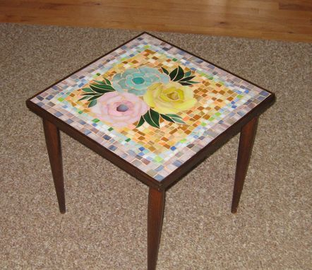 Custom Made Mosaic Table Design