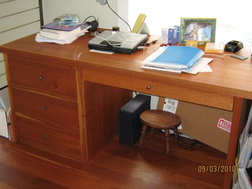 Custom Made Home Office In Cherrywood