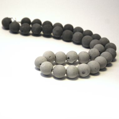 Custom Made Concrete Ombre Pearl Necklace