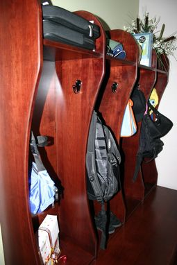 Custom Made Cubbie Storage
