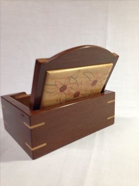 Custom Made Keepsake Box With Hidden Hinge Pins