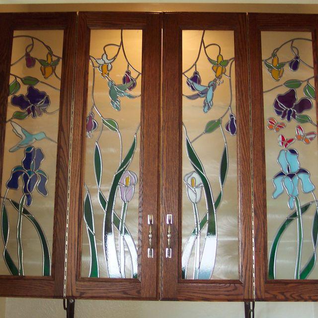Custom Cabinet Door Art Gl By Sgo Designer Of Los Angeles Custommade