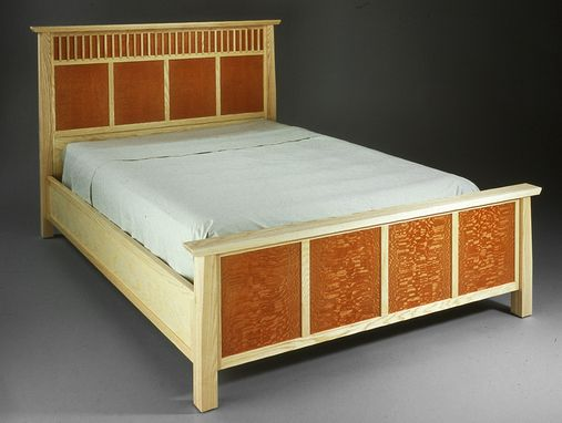 Custom Made Red Bed