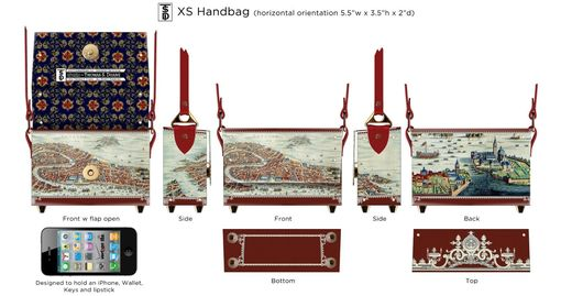 Custom Made Xs Handbag - Horizontal Orientation