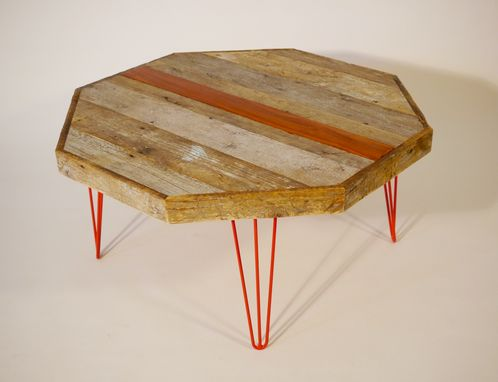 Custom Made Real Old Meets Modern Coffee Table