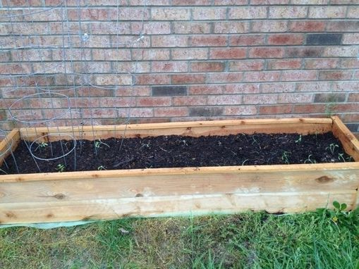 Custom Made Raised Garden Bed