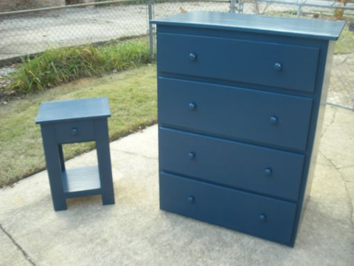 Custom Made Dresser And Nightstand