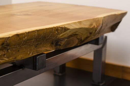 Buy A Hand Crafted Live Edge Cedar Slab Coffee Table On