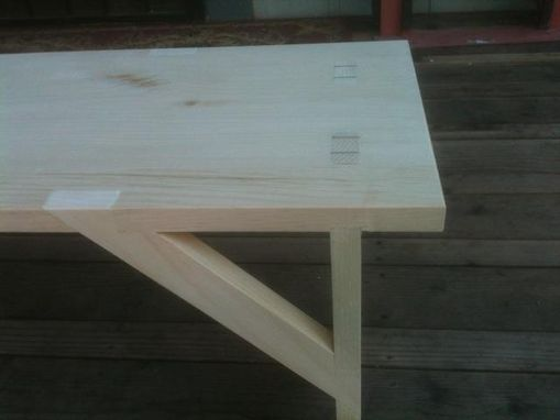 Custom Made Shaker Bench