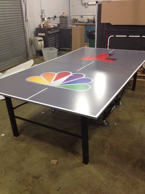 Handmade Custom Ping Pong Tables By Uberpong By Uberpong