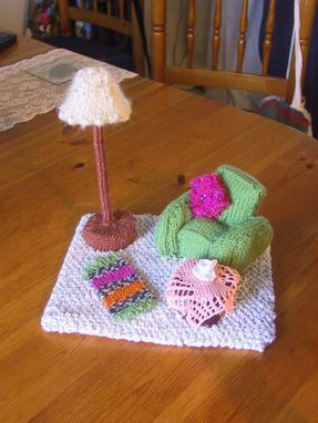 Custom Made 3d Knitted Sitting Room