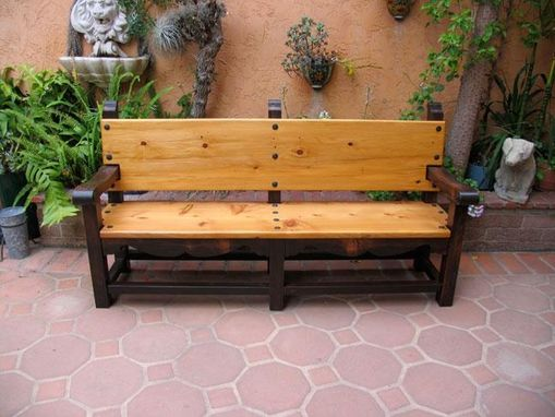 Custom Made Santa Barbara Bench