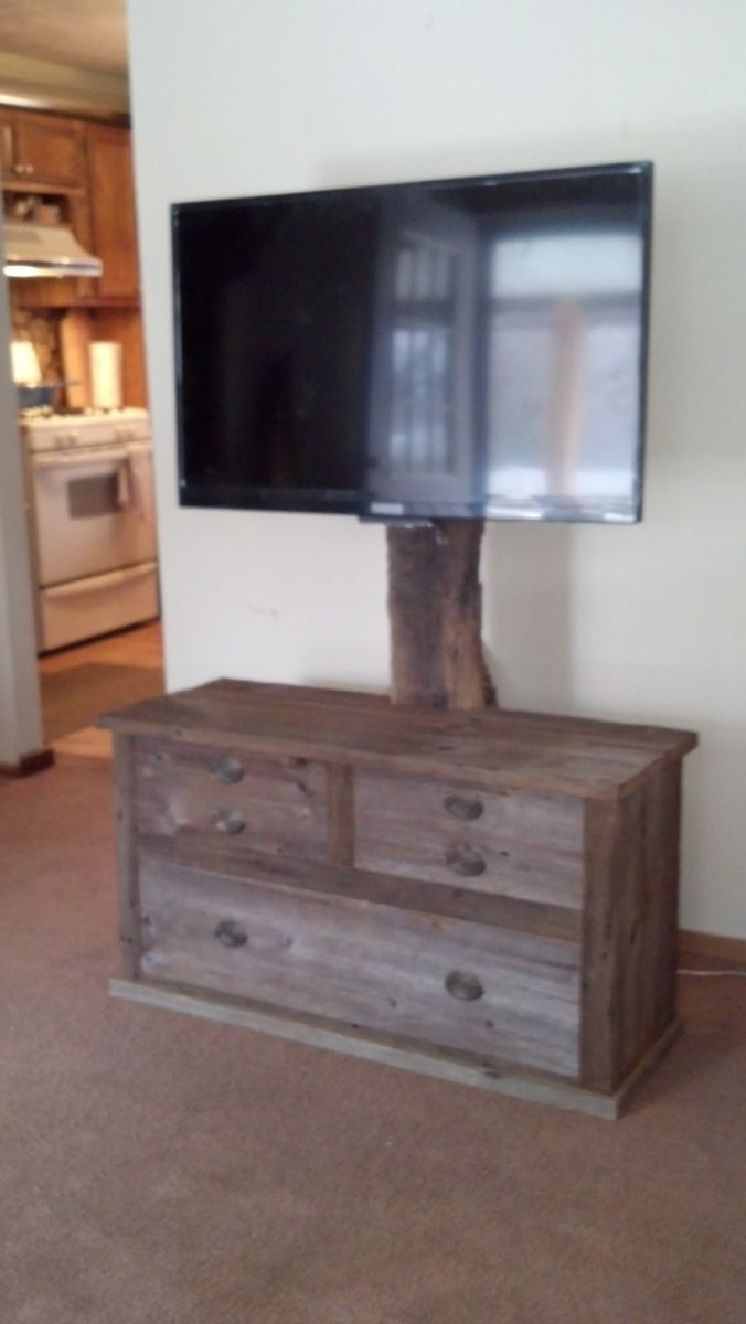 Hand Crafted Barn Wood Tv Stand By Rats Wood Creations Custommade Com