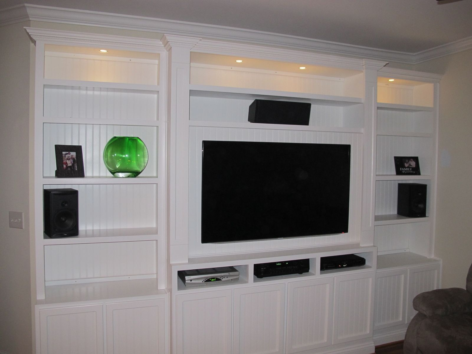 Built In Entertainment Center By Mike Pittman