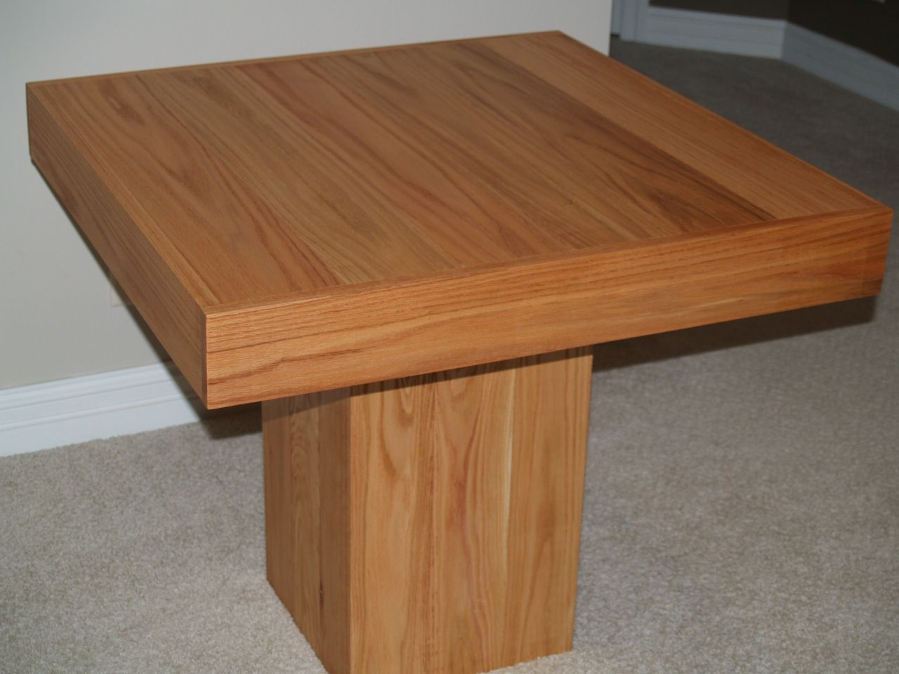 Hand Made Cube Dining Table By Cannon Custom Woodworking Llc