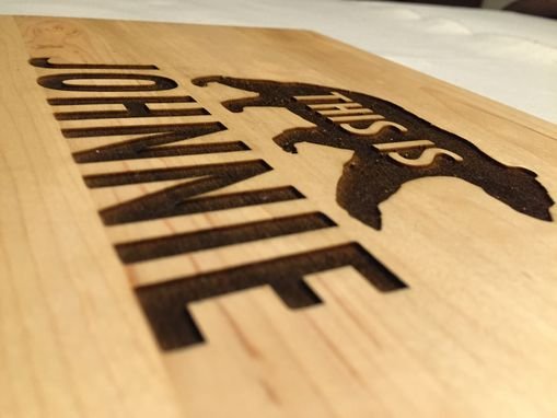 Custom Made Maple Cutting Board | Personalized Engraving