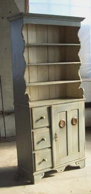 Custom Made European Dining Room Hutch
