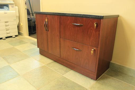 Custom Made Custom Zodiac And Walnut Credenza