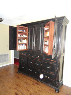 Custom Made Knotty Alder Pantry