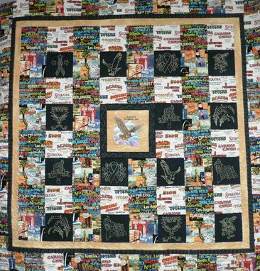 Custom Made Custom Made O' Beautiful For Spacious Skies Quilt