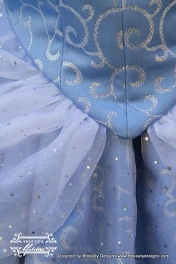 Custom Made Cinderella New 2012 Park Style Swirl Gown Dress Custom Made