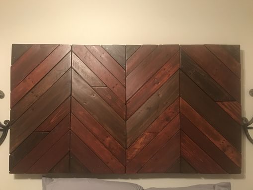 Custom Made Queen Size Custom Wall Hanging Headboard