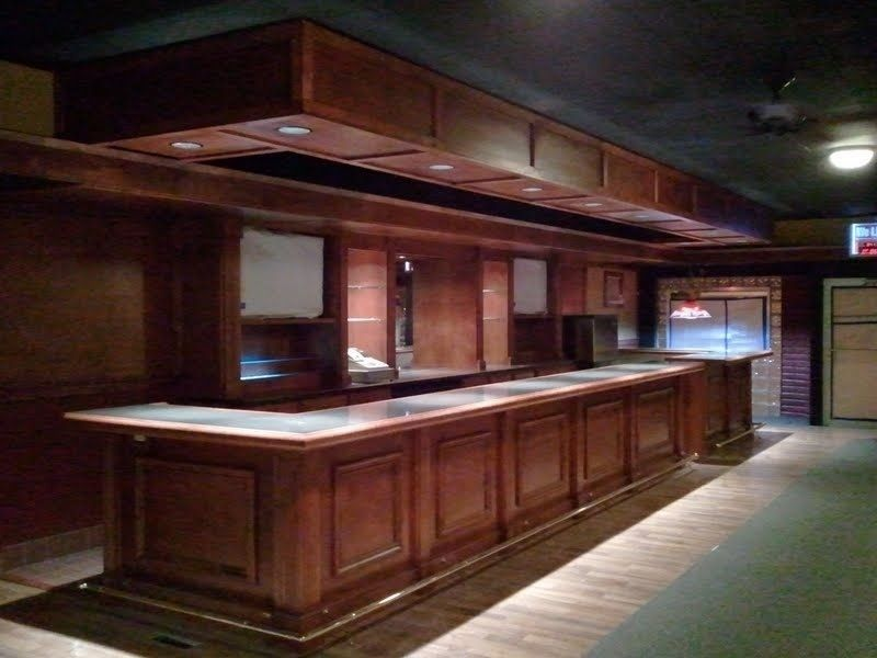 Custom Made Commercial Bar By Monarch Cabinetry