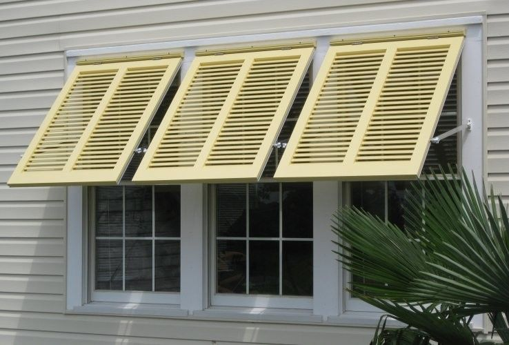 Hand Crafted Bahama Style Shutters By Shutterstile Llc