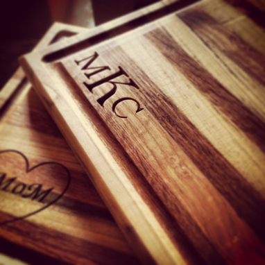 Custom Made Monogram Cutting Boards - Personalized And Eco Friendly