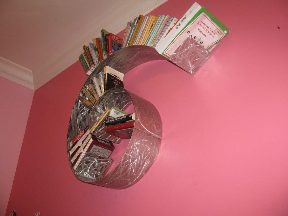 Custom Made Spiral Bookshelf