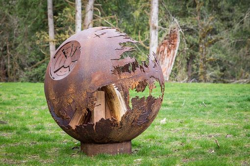 Custom Made Death Star Fire Pit