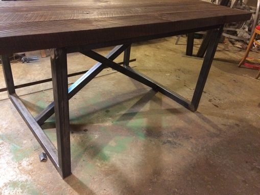 Custom Made Reclaimed Wood Dining Table