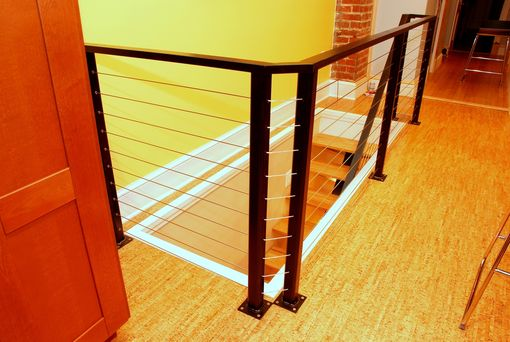 Custom Made Modern Cable Railing