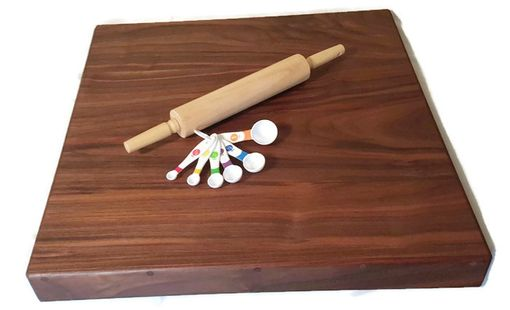 Custom Made Pie Rolling Board, Wooden Kitchen Accessories, Wood Anniversary Gift