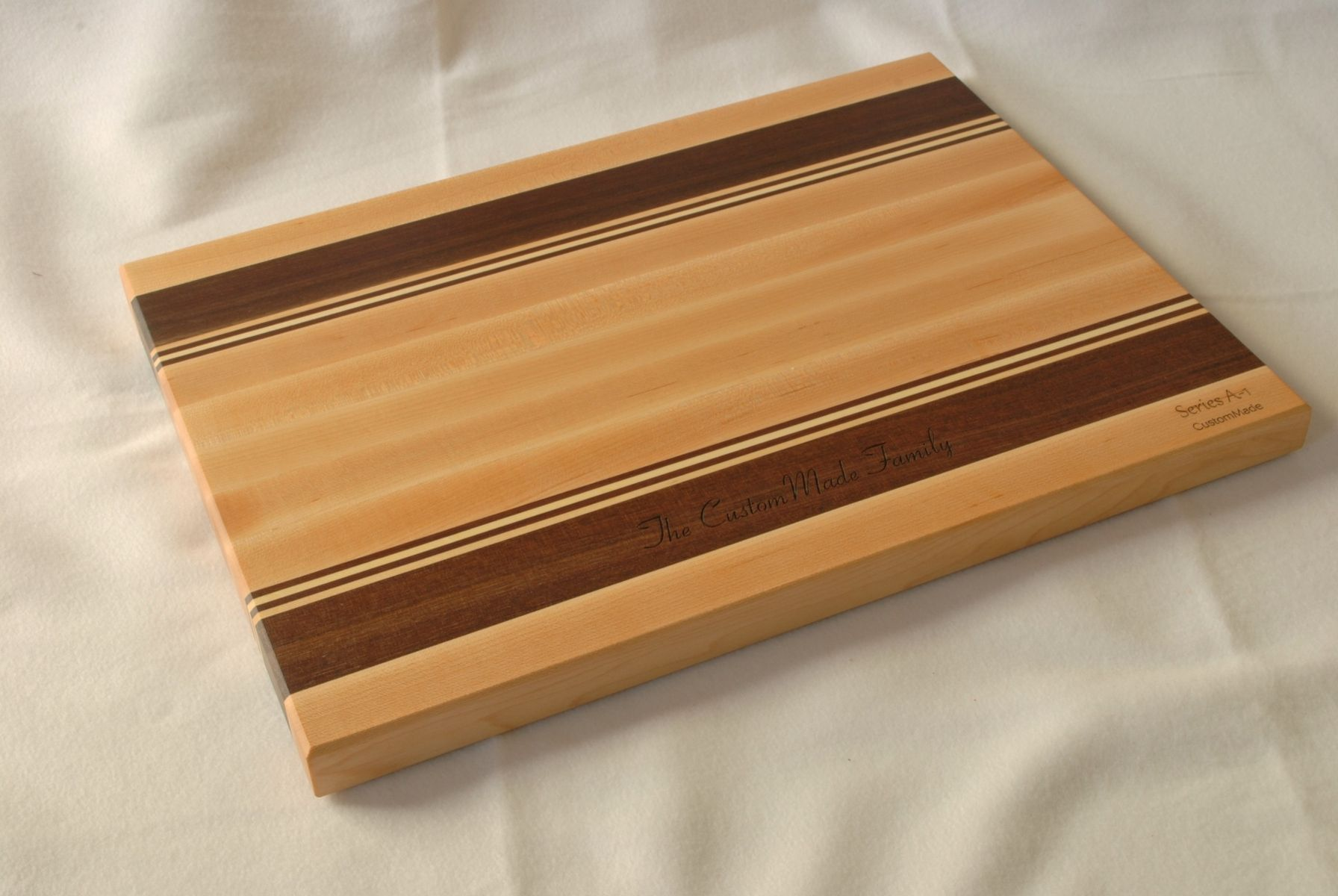 A Handmade Personalized Wood Cutting Board With Engraving Made To Order From Clark Creations Custommade