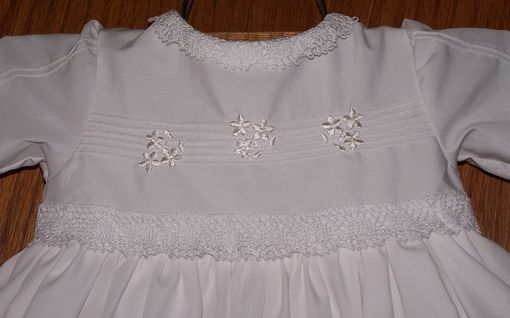 Custom Made White Egyption Cotton Blessing Gown