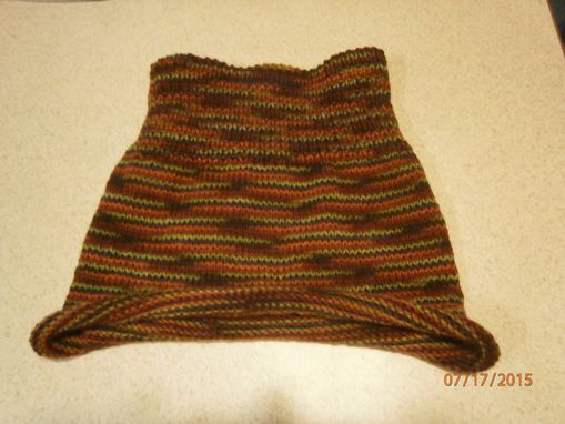 Custom Made Hand Crochet Or Knitting Scarf Or Hat