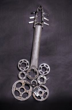 Custom Made Bicycle Guitar