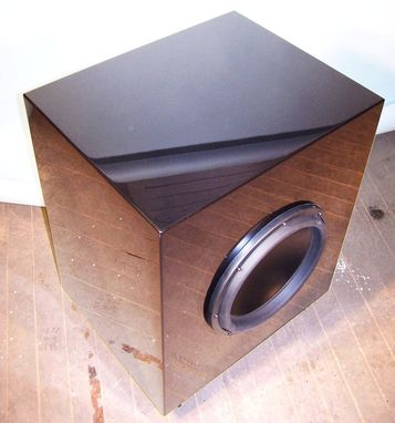 Custom Made Sub Woofer With Mirror Finish