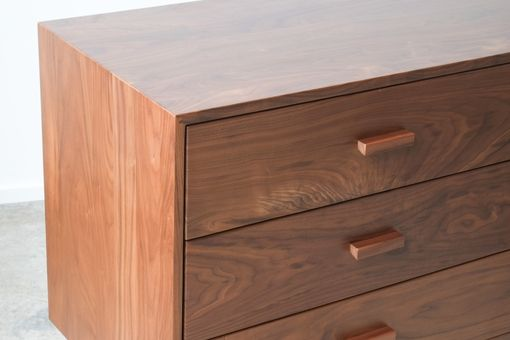 Custom Made Bedroom Dresser - Walnut