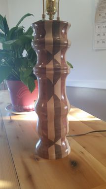 Custom Made Segmented Lamp