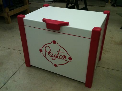 Custom Made Child's Toy Chest