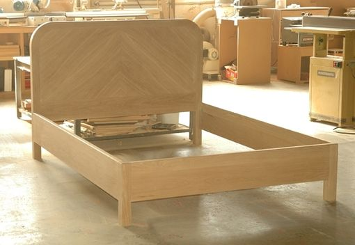 Custom Made Oregon White Oak Bed