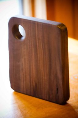 Custom Made Live Edge Black Walnut Table Trivet
