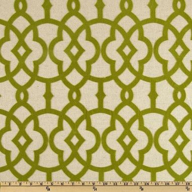 Custom Made Custom Curtain Panels Home Accents Jotto Olive Green 96l X 50w Flocked Curtains Trellis