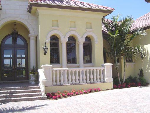 Custom Made Cast Stone Balusters