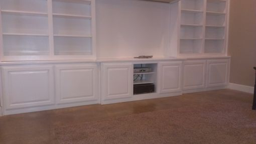 Custom Made White Wall Unit
