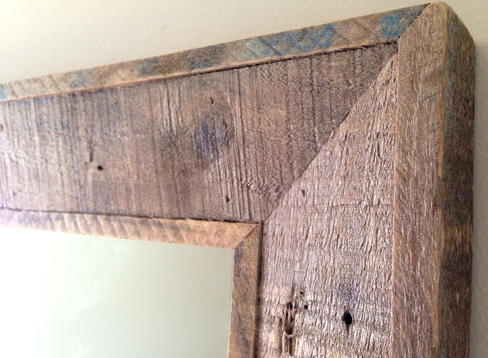 Hand Crafted Reclaimed Wood Mirror by Pulp & Ore