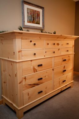 Custom Made Knotty Pine Dresser